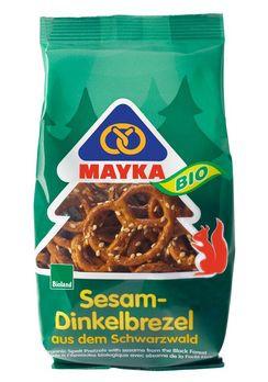 Mayka Sesam-Dinkelbrezel 125g MHD 08.08.2021
