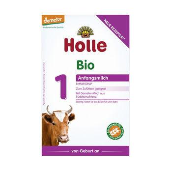 Holle Anfangsmilch 1, Säuglingsnahrung demeter 400g MHD 30.09.2021