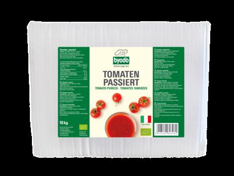 Byodo Tomaten passiert (Bag in Box) 10kg MHD 06.09.2021