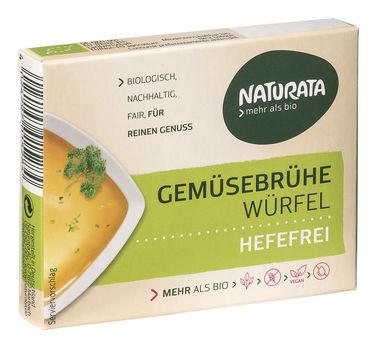 Naturata Gemüsebrühwürfel hefefrei 6x12g MHD 20.06.2021
