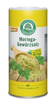 Lebensbaum Moringa-Gewürzsalz, Sreudose 200g MHD 29.02.2020