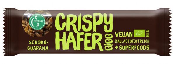 GREENIC Crispy Hafer Gigg Schoko-Guarana 35g MHD 28.02.2021