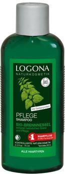LOGONA Pflege Shampoo Bio-Brennessel Kleingröße 75ml MHD 31.05.2020