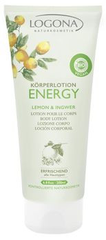 LOGONA Körperlotion ENERGY Lemon & Ingwer 200ml MHD 31.05.2020