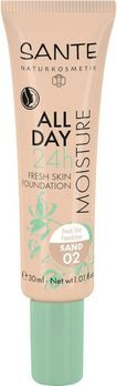 SANTE All Day Moisture 24h Fresh Skin Foundation 02 30ml MHD 31.03.2021