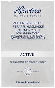 Heliotrop ACTIVE Zellenenergie-Plus Straffungs-Maske 2x4ml MHD 30.11.2020
