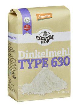 Bauckhof Dinkelmehl hell Type 630 demeter 1kg/A MHD 10.05.2021