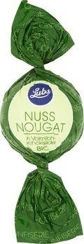 Lubs Confiseriekugeln Nussnougat mit Vollmilchschokolade 85g/S MHD 28.02.2020