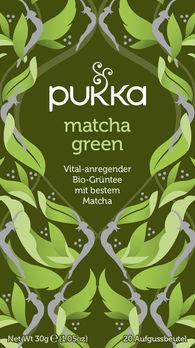 Pukka Matcha Green Tee 20Btl MHD 31.07.2020