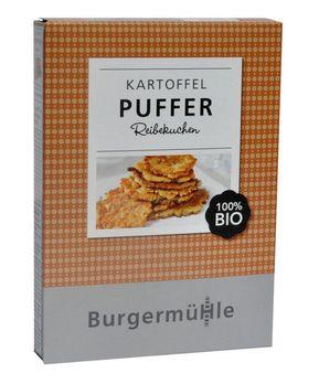 Burgermühle Kartoffel Puffer 170g (beschädigte Verpackung) MHD 31.12.2021