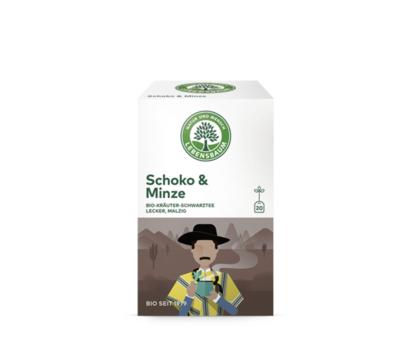 Lebensbaum Schoko & Minze Tee 20 Btl/A MHD 31.12.2019