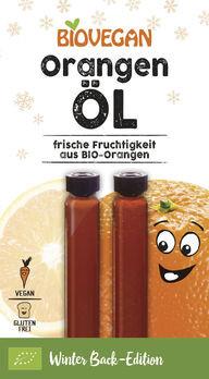 Biovegan Orangen Öl 2x2ml MHD 31.07.2020
