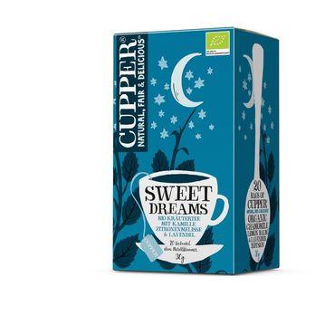 CUPPER Little Dreamer/ Sweet Dreams Tea 30g 20 Beutel (beschädigte Verpackung) MHD 29.11.2021