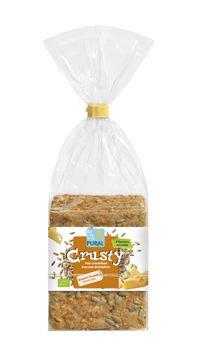 Pural Crusty Dinkel-Käse, Gourmet Knäckbrot 200g MHD 15.06.2021