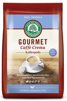 Lebensbaum Gourmet Cafè Crema, entkoffeniert, Pads 126g MHD 25.03.2021