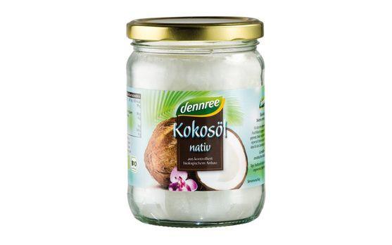 dennree Kokosöl nativ 450g MHD 31.05.2020