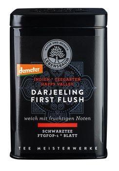 Lebensbaum Darjeeling First Flush demeter Dose 75g MHD 29.02.2020