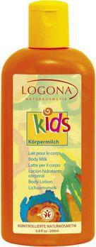 LOGONA Kids Körpermilch 200ml MHD 30.11.2020