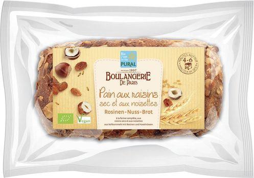 Pural Rosinen-Nuss-Brot 620g MHD 01.09.2020