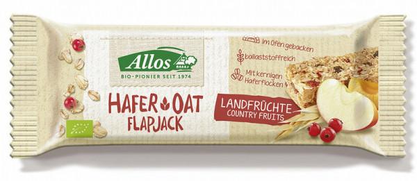 Allos Hafer Flapjack Landfrüchte 50g MHD 26.05.2021