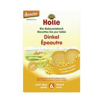 Holle Baby Dinkelzwieback Demeter 200g MHD 26.08.2021