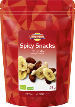 MorgenLand Spicy Snacks Exotic Mix 125g/A MHD 08.08.2021