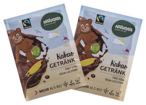 Naturata Portionsbeutel Kakao-Getränk Instant 10g MHD 01.11.2020