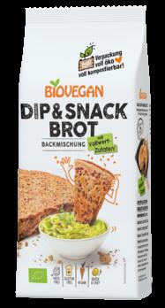 Biovegan Brotbackmischung Dip & Snack 330g MHD 31.05.2021