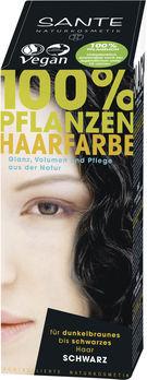 SANTE Pflanzen Haarfarben Pulver schwarz 100g MHD 31.05.2020