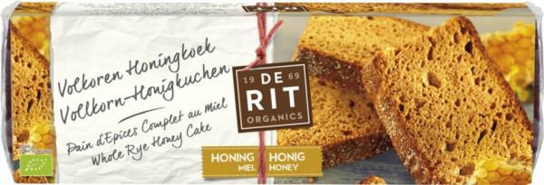 De Rit Honigkuchen Vollroggen klein 300g MHD 17.08.2020
