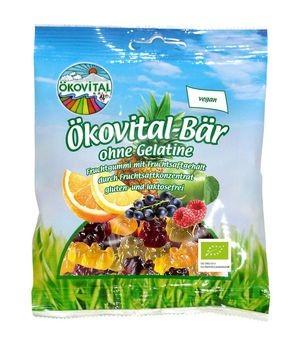 ökovital Ökovital-Bär, ohne Gelatine 100g MHD 18.03.2020
