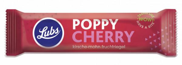 Lubs Fruchtriegel Poppy Cherry 40g/A MHD 01.10.2021