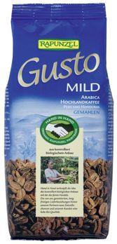 Rapunzel Gusto-Kaffee Mild, gemahlen 250g MHD 30.07.2020
