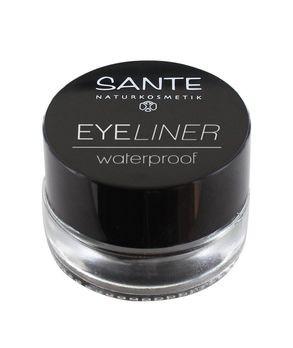 SANTE Eyeliner WATERPROOF 01 stay black 3,3g MHD 31.08.2019