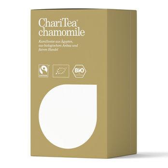 ChariTea chamomile Doppelkammerbeutel 20 x 2g (beschädigte Verpackung) MHD 06.06.2022