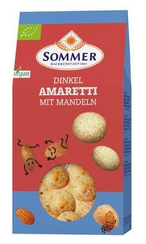 Sommer Dinkel Amaretti mit Mandeln 125g MHD 01.07.2021