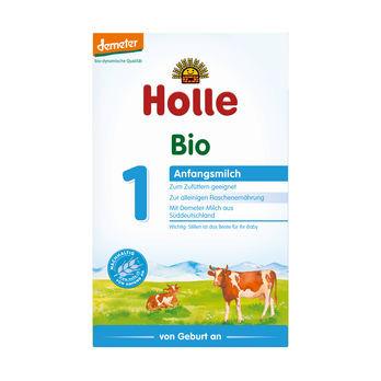 Holle Anfangsmilch 1, Säuglingsnahrung demeter 400g MHD 30.04.2020