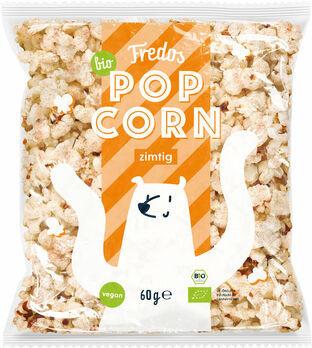 Fredos Popcorn, zimtig 60g MHD 01.11.2021