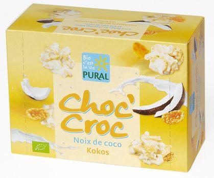 Pural Choc'Croc Cornflakes Kokos mit weißer Schokolade 100g MHD 23.08.2021
