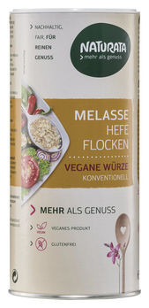 Naturata Melasse Hefeflocken konventionell Streudose 150g MHD 05.09.2020