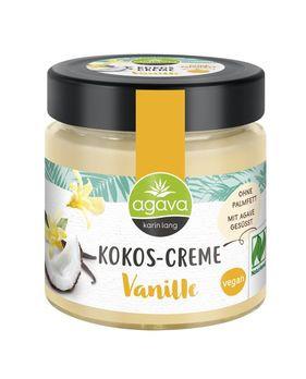agava Kokos-Creme Vanille 200g MHD 02.03.2021