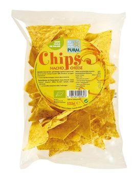 Pural Maischips Nacho Cheese 125g MHD 15.09.2021