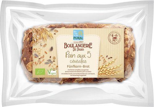 Pural Fünfkorn-Brot 620g MHD 14.07.2020