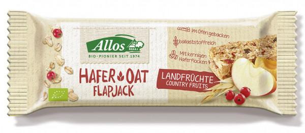 Allos Hafer Flapjack Landfrüchte 50g MHD 16.06.2020