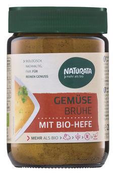 Naturata Gemüsebrühe mit Bio-Hefe, Glas 200g MHD 08.07.2021