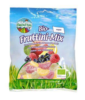 ökovital Bio-Fruttini-Mix, ohne Gelatine 100g MHD 06.09.2020