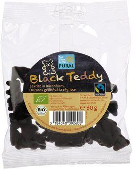 Pural Black Teddy Starklakritz 80g MHD 10.11.2020