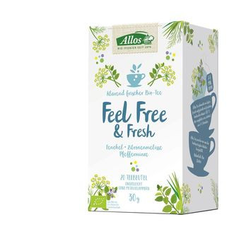 Allos Tee Feel Free And Fresh 20 Btl MHD 30.08.2020