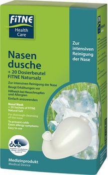 FITNE Nasendusche und 20 Beutel (36g) Nasenspülsalz Set MHD 30.06.2020