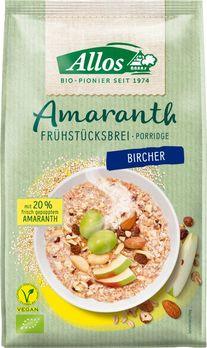 Allos Amaranth Frühstücksbrei Bircher 400g (beschädigte Verpackung) MHD 11.11.2021